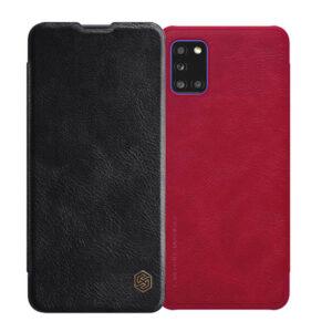 کیف محافظ سامسونگ Nillkin Qin Cover | Galaxy A31
