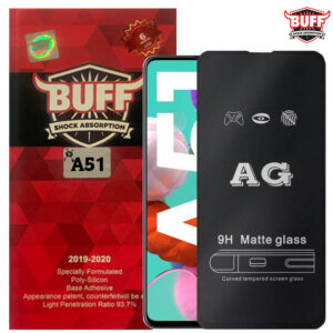 محافظ مات نمایشگر سامسونگ BUFF Anti-Glare Full Matte Glass | Galaxy A51