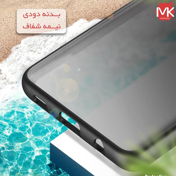 قاب هیبرید سامسونگ Matte Hybrid Case   Galaxy Note 10 Lite