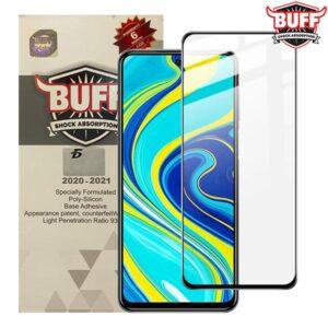 محافظ صفحه شیائومی BUFF 5D Glass | Redmi Note 9s | Note 9 Pro | Note 9 Pro Max