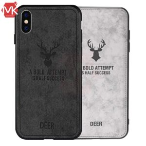 قاب محافظ آیفون Cloth Pattern Deer Case | iphone x | iphone XS