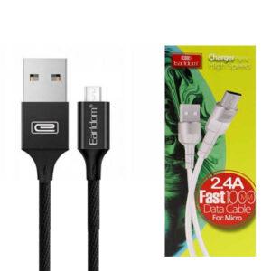 کابل شارژ ارلدام Earldom Sync High Speed Micro USB Cable | EC-050M