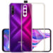 buy price huawei y9s ultra thin transparent crystal case 2 قاب گوشی