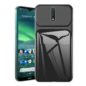 قاب محافظ نوکیا Auto Focus Carbon Fiber Case | Nokia 2.3