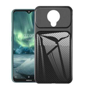 قاب اتو فوکوس نوکیا Carbon Fiber Auto Focus Case | Nokia 7.2 | Nokia 6.2