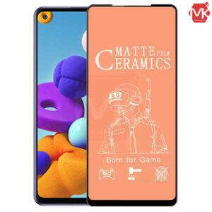 محافظ صفحه سامسونگ Ceramics Matte Film | Samsung A21s