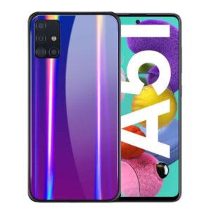 قاب محافظ سامسونگ Laser Aurora Case | Galaxy A51