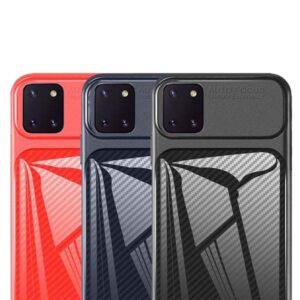 قاب محافظ سامسونگ Auto Focus Fiber Case | Samsung Note 10 Lite