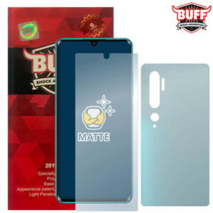 محافظ صفحه مات شیائومی BUFF Anti-Glare Hydrogel Cover | Mi Note 10 | Pro | CC9 Pro