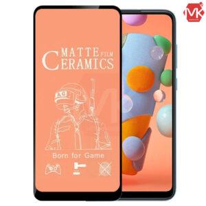 محافظ سرامیک مات سامسونگ Ceramics Protector Matte Film | Galaxy A11