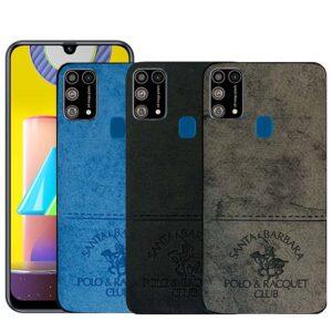 قاب محافظ سامسونگ Cloth Pattern POLO Case | Samsung M31
