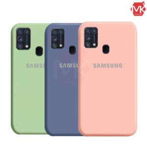 قاب محافظ سامسونگ Anti-FingerPrint Silicone Case | Samsung M31