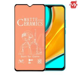 محافظ صفحه مات شیائومی Ceramics Protector Matte Film | Redmi 9