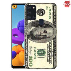 قاب طرح دار سامسونگ US Dollar Case | Samsung A21s