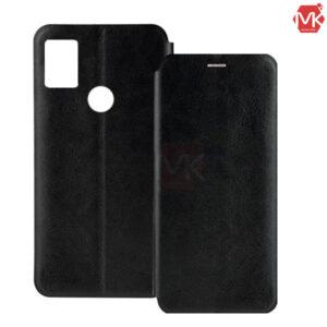 کیف محافظ شیائومی Leather Filp Cover | Huawei Y8s