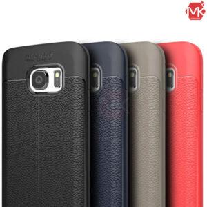 قاب محافظ سامسونگ Auto Focus Texture Case | Galaxy S6