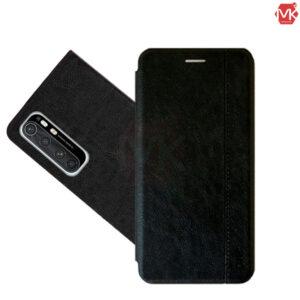 کیف محافظ شیائومی Leather Filp Cover | Mi Note 10 Lite