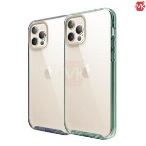 قاب محافظ هیبرید آیفون Hybrid Crystal Case | iphone 12 Pro Max