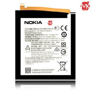 buy price he342 nokia x6 nokia 6.1 plus original replacement battery 1 باتری گوشی