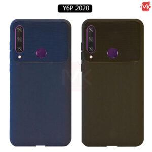 قاب محافظ هواوی TPU Carbon Fiber Case | Y6P 2020
