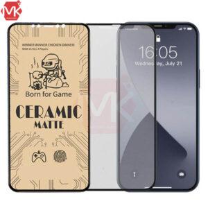 محافظ صفحه آیفون Ceramics Matte Film | iphone 12 | iphone 12 Pro