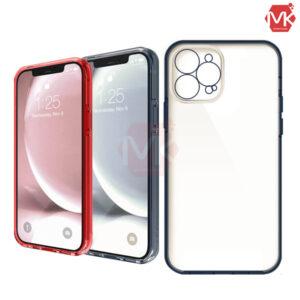 قاب هیبرید + محافظ دوربین آیفون Hybrid Transparent Case | iphone 12 Pro