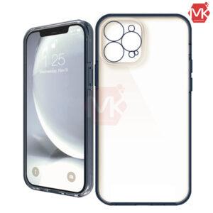 قاب هیبرید + محافظ دوربین آیفون Hybrid Transparent Case | iphone 12 Pro Max