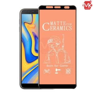 محافظ صفحه سامسونگ Ceramics Matte Film | Galaxy j6 Plus | j4 Plus