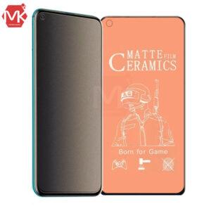محافظ سرامیک مات شیائومی Ceramics Matte Film | Redmi Note 9