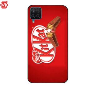 قاب طرح دار سامسونگ Designed KitKat Case | Galaxy A12