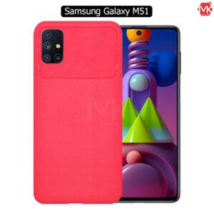 قاب محافظ سامسونگ TPU Carbon Fiber Case   Galaxy M51