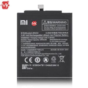 باتری شیائومی Xiaomi Redmi 5A BN34 Battery اورجینال