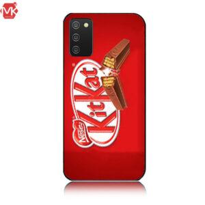 قاب طرح دار سامسونگ Designed KitKat Case   Galaxy A02s