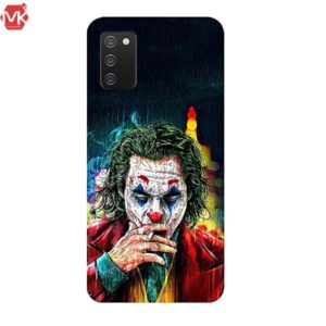 قاب جوکر سیلیکون Smoking joker Case | Galaxy A02s