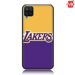قاب محافظ طرح دار سیلیکون Designed Lakers Case | Galaxy A12