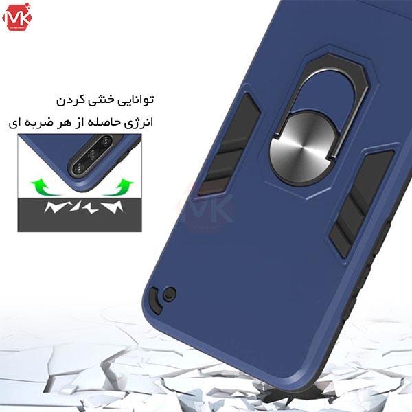 قاب محافظ آیفون Hybrid Armor Ring Case | iphone 12 | iphone 12 Pro