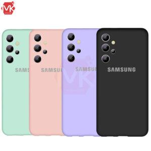 قاب محافظ سیلیکون سامسونگ Silicone Cover | Galaxy A32 5G