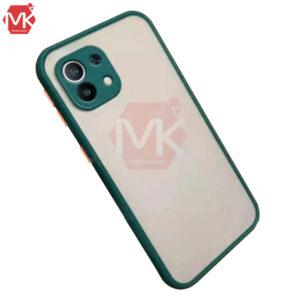 قاب پشت مات شیائومی Hybrid Matte Case | Mi 11