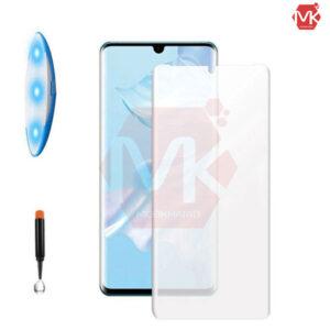 محافظ صفحه UV مات هواووی Full UV Matte Glass | P30 Pro
