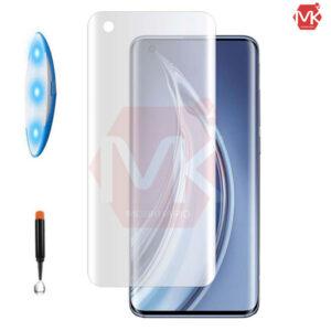 محافظ صفحه UV مات شیائومی Full UV Matte Glass | Mi 10 | Mi 10 Pro