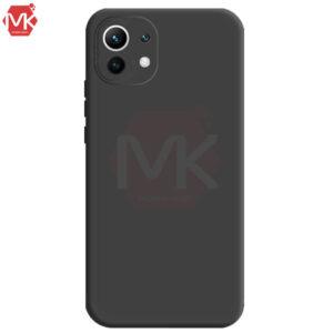 قاب محافظ سیلیکون Silicone Case   Mi 11 Lite 4G   Mi 11 Lite 5G