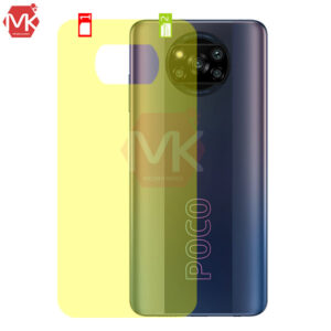برچسب پشت گوشی شیائومی Nano Back Protector | Poco X3 NFC