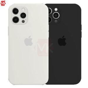 قاب سیلیکون محافظ لنز دار Silicone Case | iphone 12 Pro Max