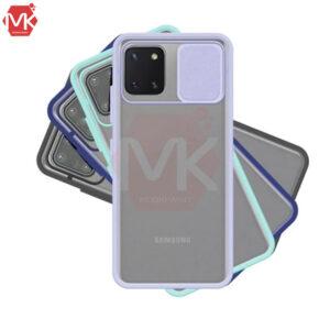 قاب محافظ سامسونگ Hybrid Sliding Cover   Galaxy A81   Note 10 Lite