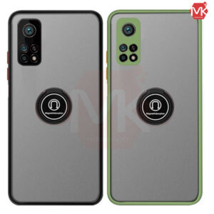 قاب محافظ شیائومی Metal Ring Matte Case | Mi 10T 5G | Mi 10T Pro | K30s