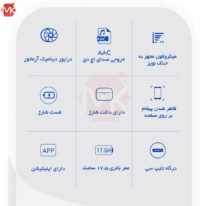 هندزفری بلوتوث شیائومی TWS Dual Driver Bluetooth Handsfree | QCY T11