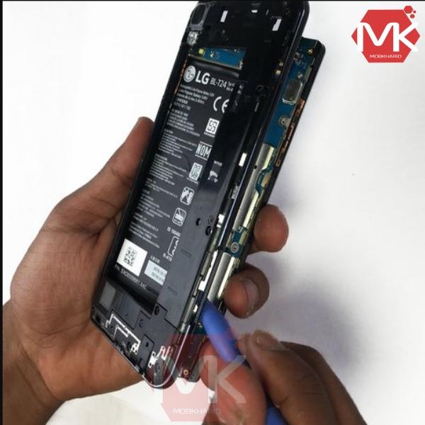 روش تعویض باتری LG X power