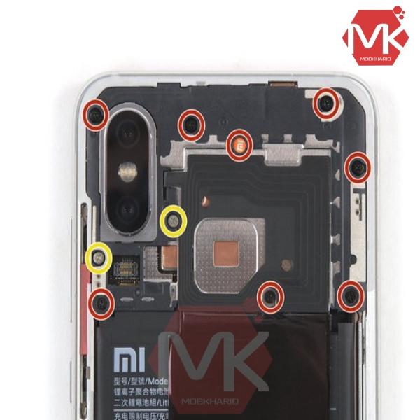 روش مرحله به مرحله تعویض باتری Xiaomi BM3F Mi 8 Pro