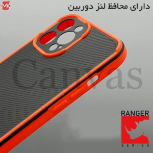 قاب محافظ آیفون Ranger Series Canvas Cover   iphone 12 Pro Max