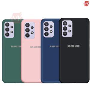 قاب سیلیکون سامسونگ Original Soft Silicone Cover | Galaxy A32 4G